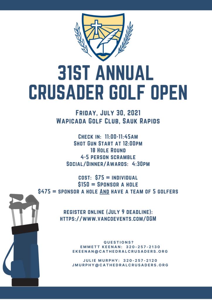 Golf Open Poster